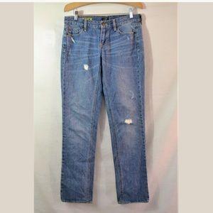 J.Crew Matchstick Straight Leg Jeans Size 28 x 31